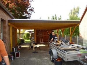 Errichtung eines Carports